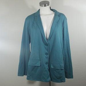 Style & Co Blazer Green Nectar XXL New